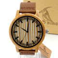 BOBO BIRD M06 Mechanical Watch Top Brand Luxury Bamboo Wooden Wrist Watches for Men Cool Rotating Dial Face Luxury Gift Wood Box