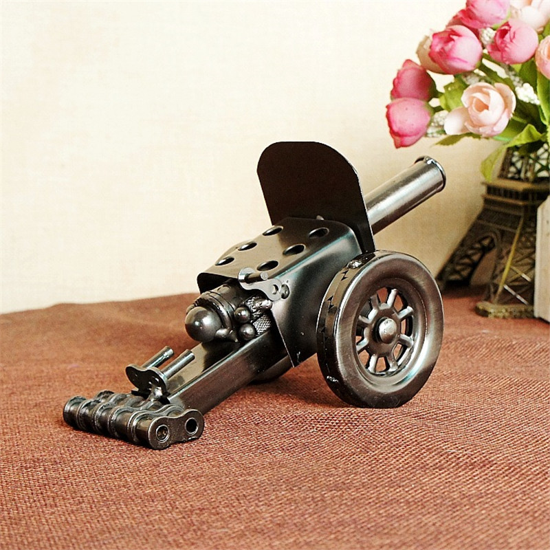 Manufacturers selling the new 1203 artillery cannon model crafts metal crafts ornaments
