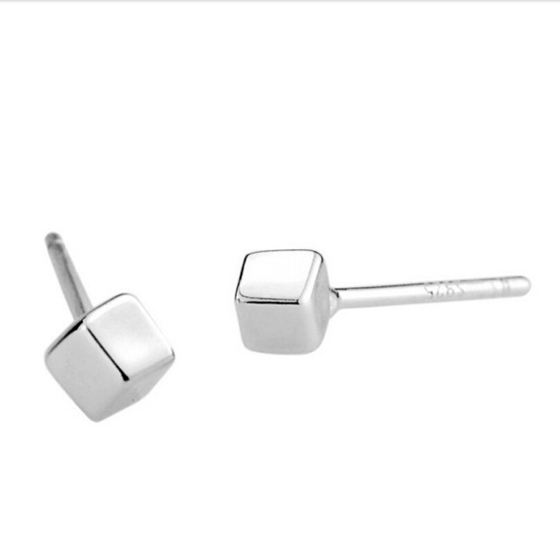 square 925 silver stud earring,square stud earring wholesale,square earring,2015 new earring supplier,free shipping<br><br>Aliexpress