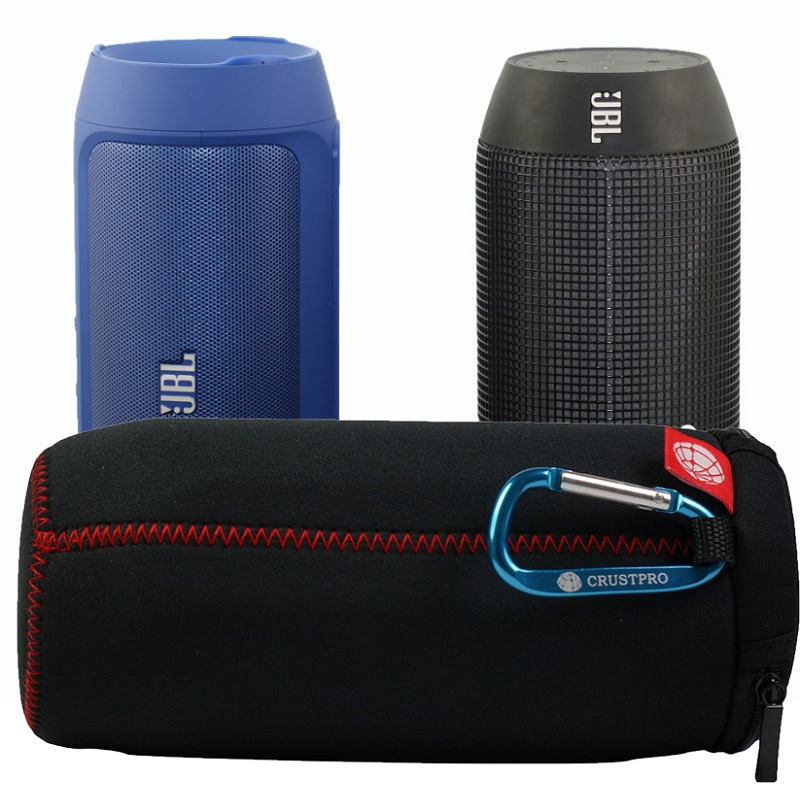 Portable Slim Travel Flip Zipper Sleeve Protective Bag Pouch Box Case Cover JBL Pulse Charge2 Bluetooth Speaker - KOTRADE CO.,LTD store