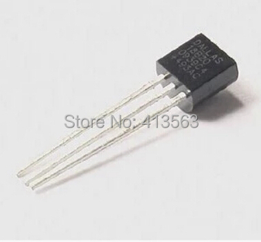 Free Shipping 1pcs DALLAS DS18B20 18B20 18S20 TO-92 IC CHIP Thermometer Temperature Sensor 30506(China (Mainland))