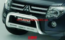 Free shipping, Mitsubishi pagerlo v87 v93 v97 guardrail v87 v93 v97 MITSUBISHI bumper steel(China (Mainland))