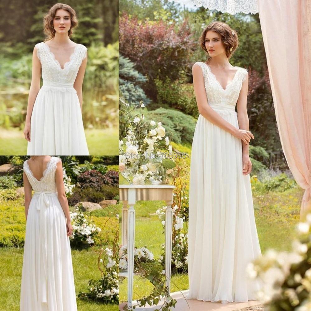 Designer 2015 fall wedding dress bohemian wedding gowns for Best boho wedding dresses