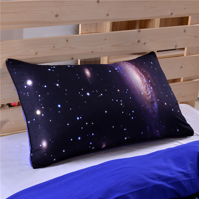 Hipster galaxy bedding set universe outer space themed for Outer space themed fabric