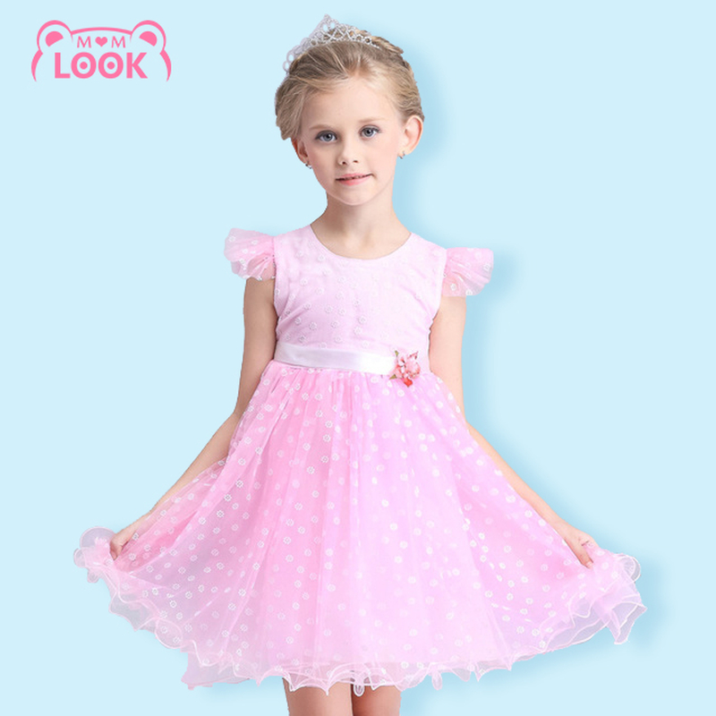 Baby Girl Dress Flower Printed Ball Gown Floral Pattern Sleeveless Princess Dress Girls Clothes Kids Dress 110-150CM(China (Mainland))