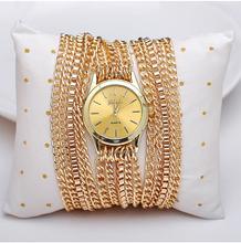 Mujeres de acero de cable estilo reloj pulsera de cuarzo analógico, alta calidad de lujo relojes de marca, relojes militares