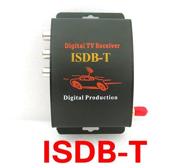 HOT 4K ISDB-T DVB T2 H.264 MPEG4 Mobile Digital TV Box External USB DVB-T2 Car TV Receiver Only Support Brazil(China (Mainland))