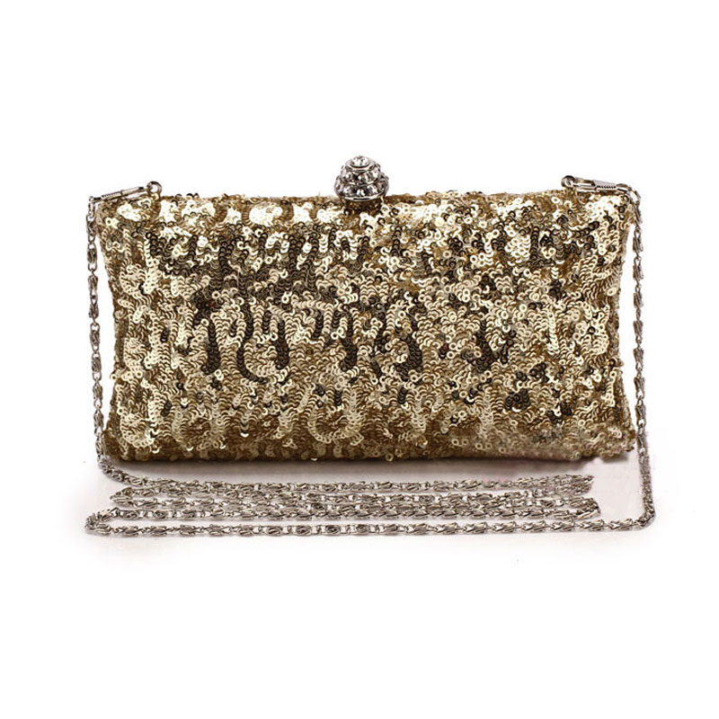 2016 Women Sequins Day Clutch Lady Evening Bags Wedding Gold Designer Rhinestone Handbags Dress Party Purse bolsos mujer XA839D(China (Mainland))