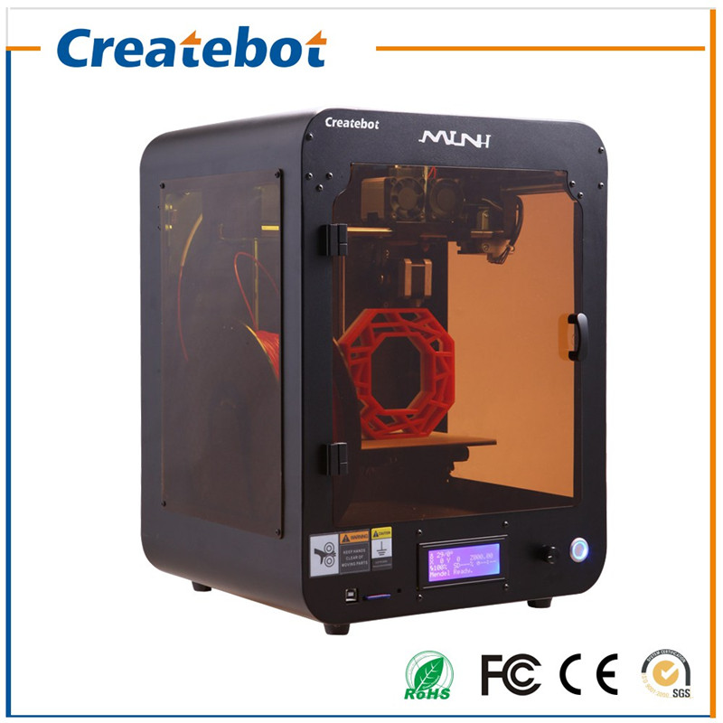 Best Price Best Service Createbot Brand 3D Printer Machine For Sale with 4G SD Card and 1 Roll of 3D PLA Filament for free(China (Mainland))
