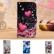 Buy Luxury Flower Leather Case Sony Xperia E4 E2115 E2124 E4 Dual E2114 E2105 Capa TPU Back Cover Shell Stand Wallet Phone Bag for $2.83 in AliExpress store