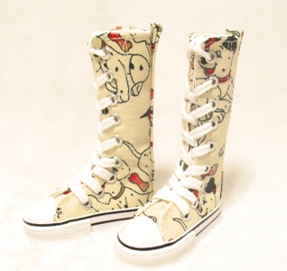 BJD Doll fashion high canvas boots doll shoes  - 1/4<br><br>Aliexpress