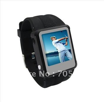 """2015 New!!! 1.5""""TFT MP4 Watches with 2GB ,mp4 player , mp4 watch ,ebook ,FM radio , Music And Video Player,freeshipping 1 piece"""