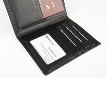 Passport Holder Men 100 Genuine Leather Uitility Good For Business Travel Wallet Portable Quality Case