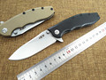 New tactical folding knife outdoor camping hunting survival pocket knife 9CR13MOV blade G10 handle knives EDC