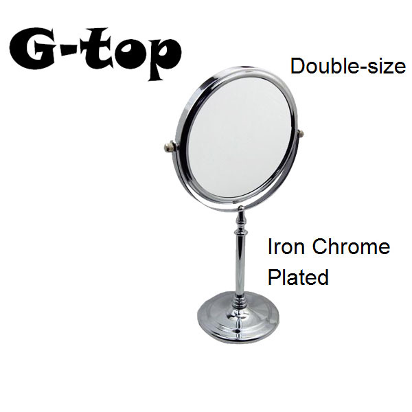 1x 2x Magnifying Stand Mirror For Lady Bathroom Desktop Mirror Beauty Make Up Mirror Cosmetic