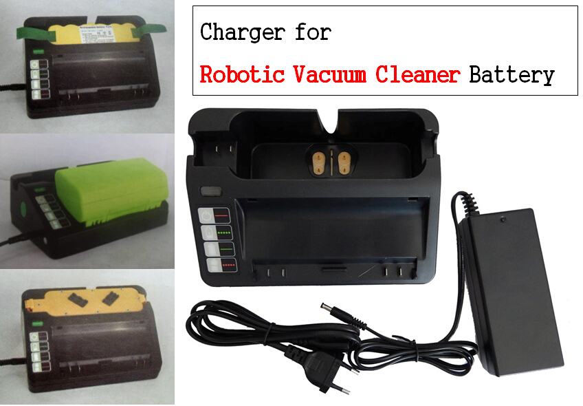 External Universal battery Charger for iRobot 400 500 700 ,Scooba 380 5900 series for Robotic Vacuum Cleaner Batteries(China (Mainland))