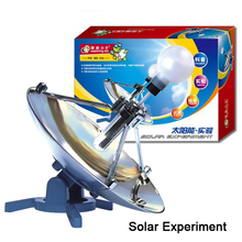 Children science educational toys Environmentally & Renewable energy Solar Power Experiment exploring reflection and sun's rays(China (Mainland))