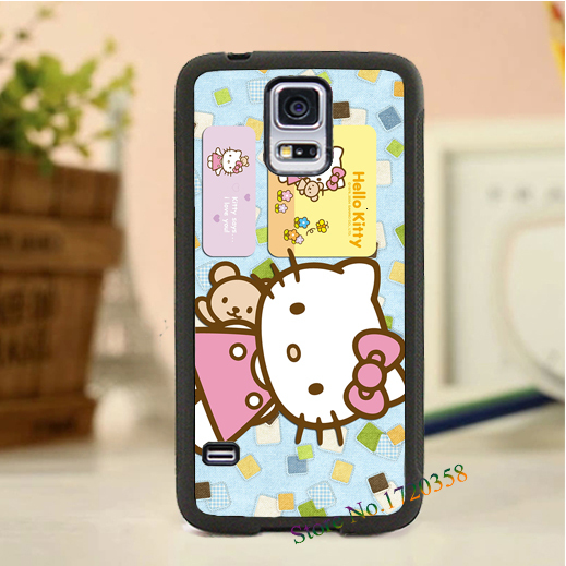 Hello Kitty fashion original cell phone case cover for SamSung Galaxy S3 S4 S5 note 2 note 3(China (Mainland))