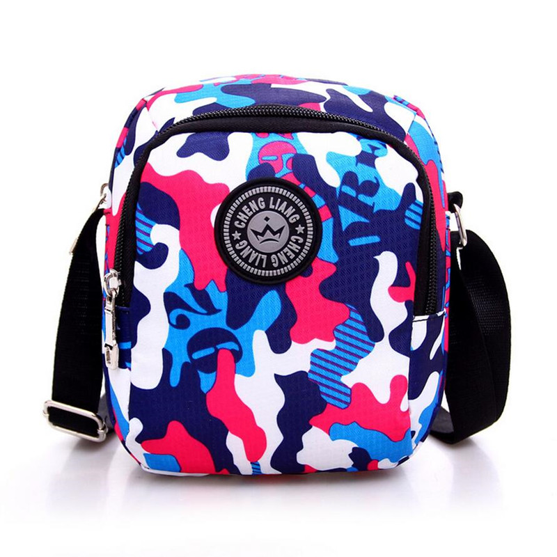 High Quality Camouflage Unisex Sport Messenger Bag Small Handbags Casual Crossbody Bags Travel Necessaries Wash Canvas Fabric(China (Mainland))