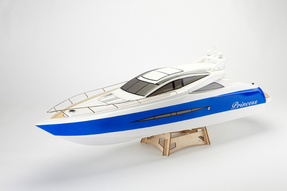 Princess Electric Brushless RC Boat Fiberglass with 3650 KV1620 motor with Water Cooling 125A ESC (W/O Radio System)(China (Mainland))
