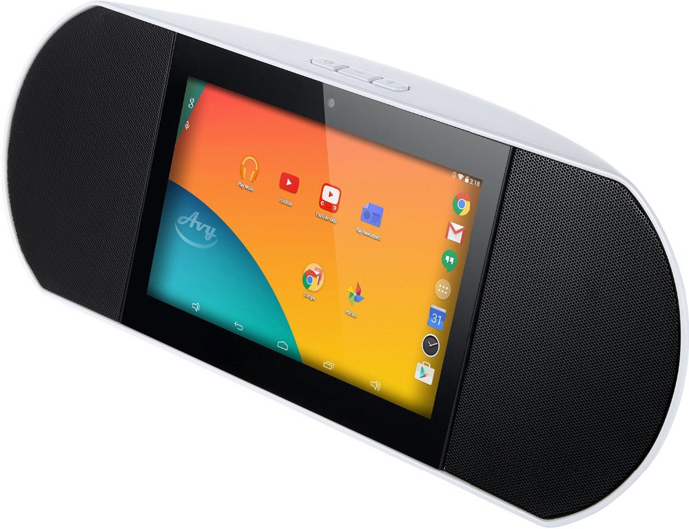 Wireless Smart Speaker WiFi Internet Radio Powered By Android 4.4 Kitkat with Built-in 7 Inch Quad Core Tablet and Google Play(China (Mainland))
