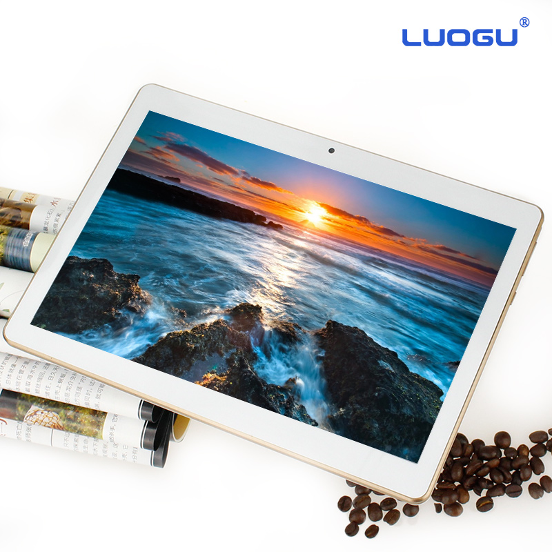 DHL Free LUOGU 10 inch tablet MTK6580 quad core 3G GPS Android 5.1 2GB/32gb Dual Camera 2.0MP 1280*800 IPS Screen(China (Mainland))