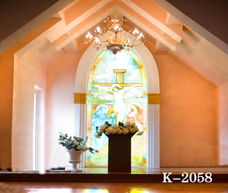 10x10ft vinyl photography backdrop vinyl backdrops for photography European indoor photography background church k-2058<br><br>Aliexpress