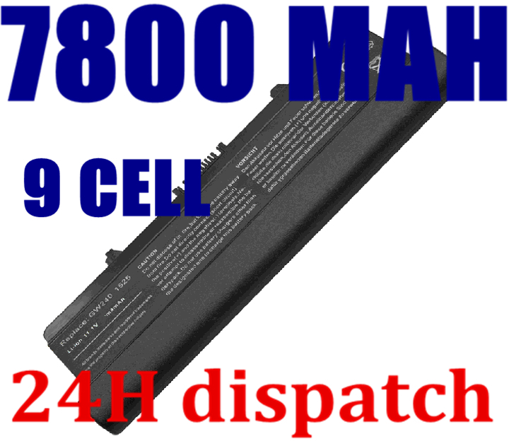7800mAh Laptop Battery For dell Inspiron 1525 1526 1545 1546 Vostro 500 0D608H 0GW252 0F972N 312-0940 J414N K450N(China (Mainland))