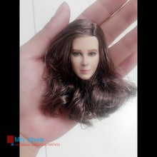 1/6 Headplay Figure Head Model Brown Long Hair Female Head Sculpt 12″ Action Figure Collection Doll Toys Gift