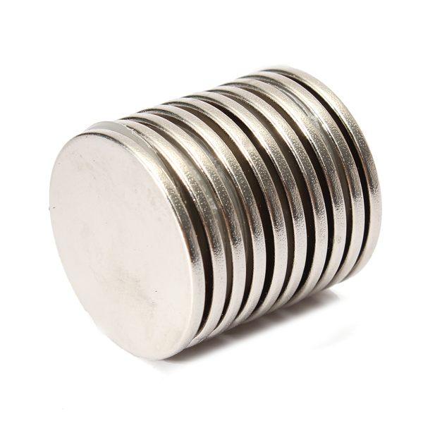 2015 New 10pcs 25mm x 2mm N35 Super Power Strong Round Rare Earth Neodymium Magnet Magnets High Quality Wholesale Price<br><br>Aliexpress