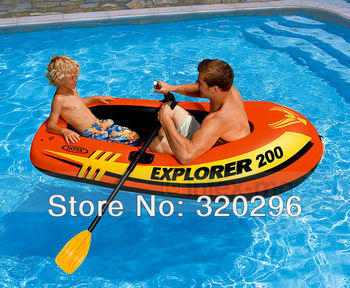 Intex Explorer 200 Set Pool Boat Explorer 200 Set 2-person Pool boat/ INTEX-58331
