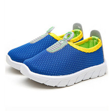 Hot Sport Unisex Child 1-3 Years Soft Bottom Breathable Mesh Toddler Kids Shoes I61(China (Mainland))