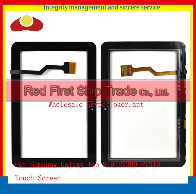 """Здесь можно купить  20Pcslot DHL EMS Original 8.9"""" For Samsung Galaxy Tab 8.9 P7300 P7310 Touch Screen With Digitizer Sensor Panel Front Glass Lens  Компьютер & сеть"""