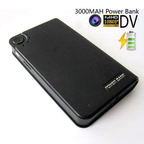 HD 1080p mini Camcorder portable Digital Video camera with 3000MAH Power Bank Function(China (Mainland))
