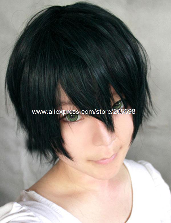 Гаджет  The prince of Tennis blackish green Short Cosplay wig Ryoma Echizen anime halloween christmas Free Shipping None Изготовление под заказ