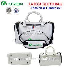 Fashion Golf clothes bag men golf bag High-end PU clothing bags(China (Mainland))