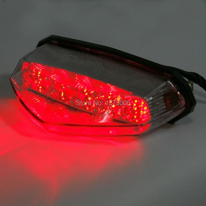 1Pcs 12V 1.5W Universal Motorcycle ATV 10 Red LED Brake Tail Light Stop Running Turn Signal Indicator Light(China (Mainland))