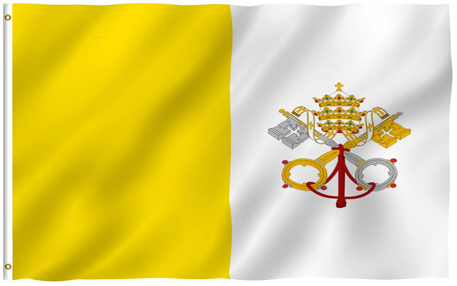 papal flag coloring pages - photo#34