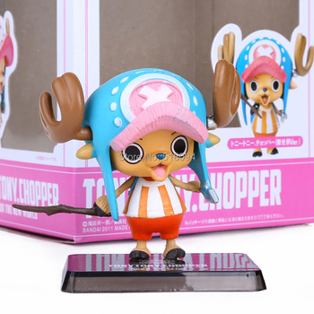 Anime Cartoon Two Years Later One Piece Choba Chopper Action Figure PVC Toys Doll Model Collection OPFG223