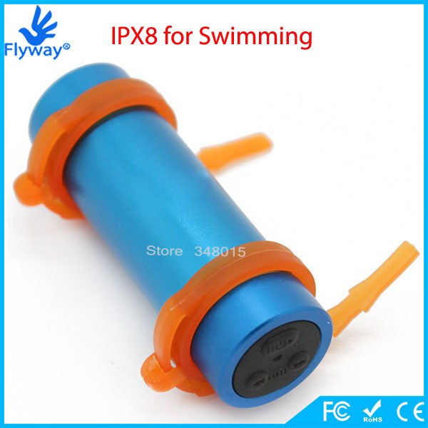Newest Hot 8GB Water Resistance IPX8 Reproductor MP3 Waterproof Sport MP3 Player Water Proof MP3 with Headphones FM Radio(China (Mainland))