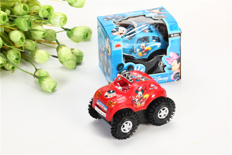 Children cartoon electric vehicle car with gift box/ Kids battery traffic car toys,1pc/ pack for Christmas gift fast shipping(China (Mainland))