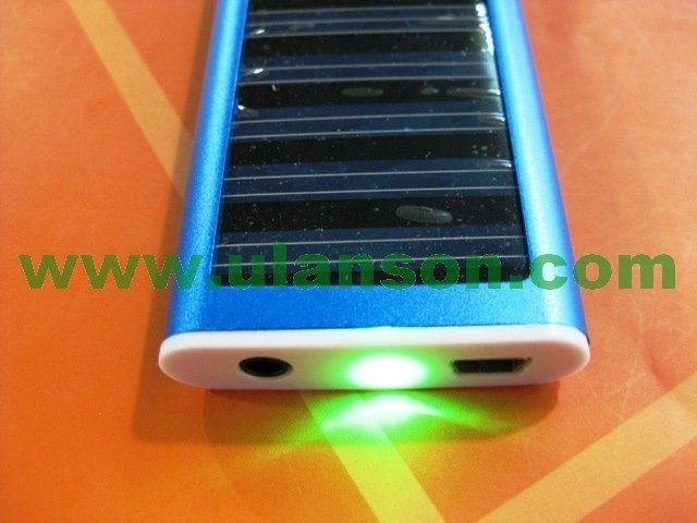 free shipping USB Solar Battery Panel Charger for Cell Phone MP3 MP4   ULS-usb solar batter 02