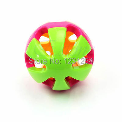 "Z101""1pc Kid Gift Musical Instrument Baby Hand Shaker Bell Jingle Ring Rattle Ball Toy(China (Mainland))"