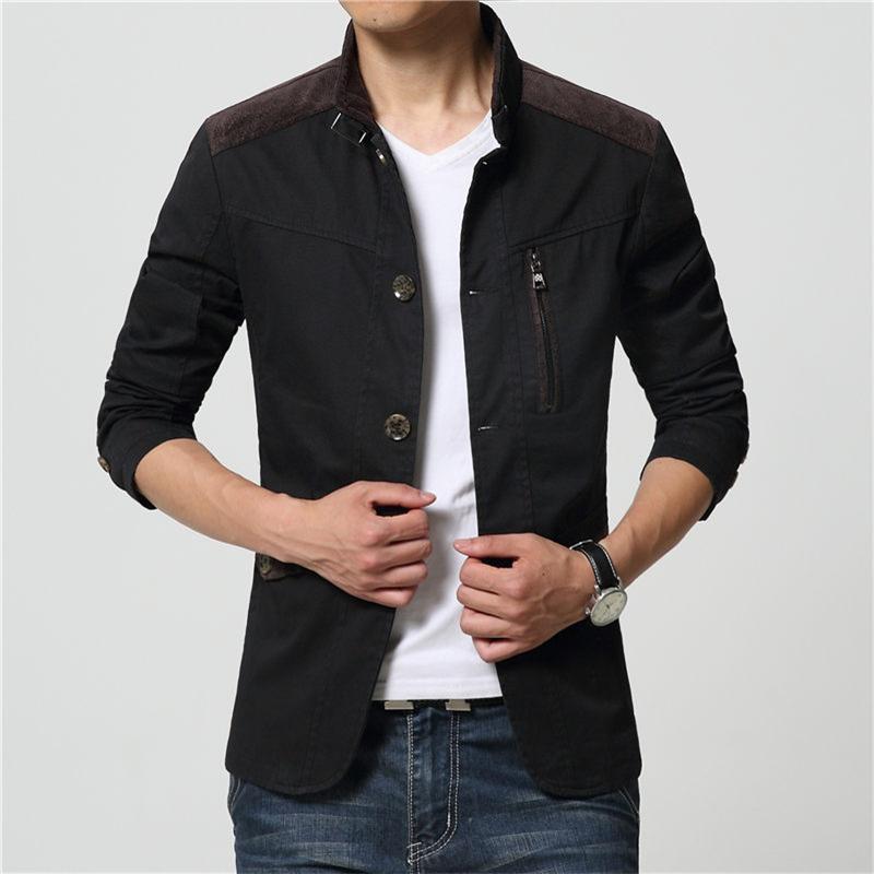 acheter 2015 nouvelle automne hiver haute qualit hommes formelle manteau de la. Black Bedroom Furniture Sets. Home Design Ideas