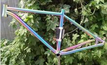 High quality titanium alloy bicycle frame(China (Mainland))