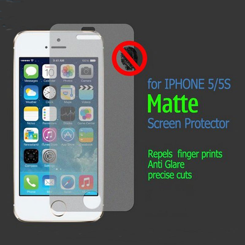20pcs Front+20pcs Back New Matte Anti Glare Screen Protector Film Guard For iPhone 5 5S SE