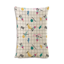 2019 Nordic green plant print pillow case home decorative pillow 30x50cm cotton linen couch cushion flower bedding pillowcase(China)