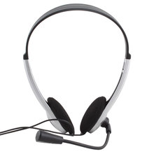 Portable Earphone and Headphone with Microphone Headphones High Quality for Phone Stereo Headset Skype for Pc Computer Laptop