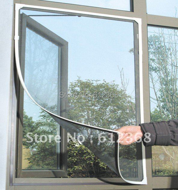 Tangpan 5pcs insect fly bug mosquito black diy window net for Screen new window