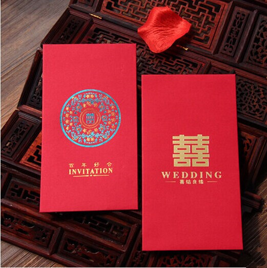 wedding favors and gifts wedding supplies chinese red packet wedding ...